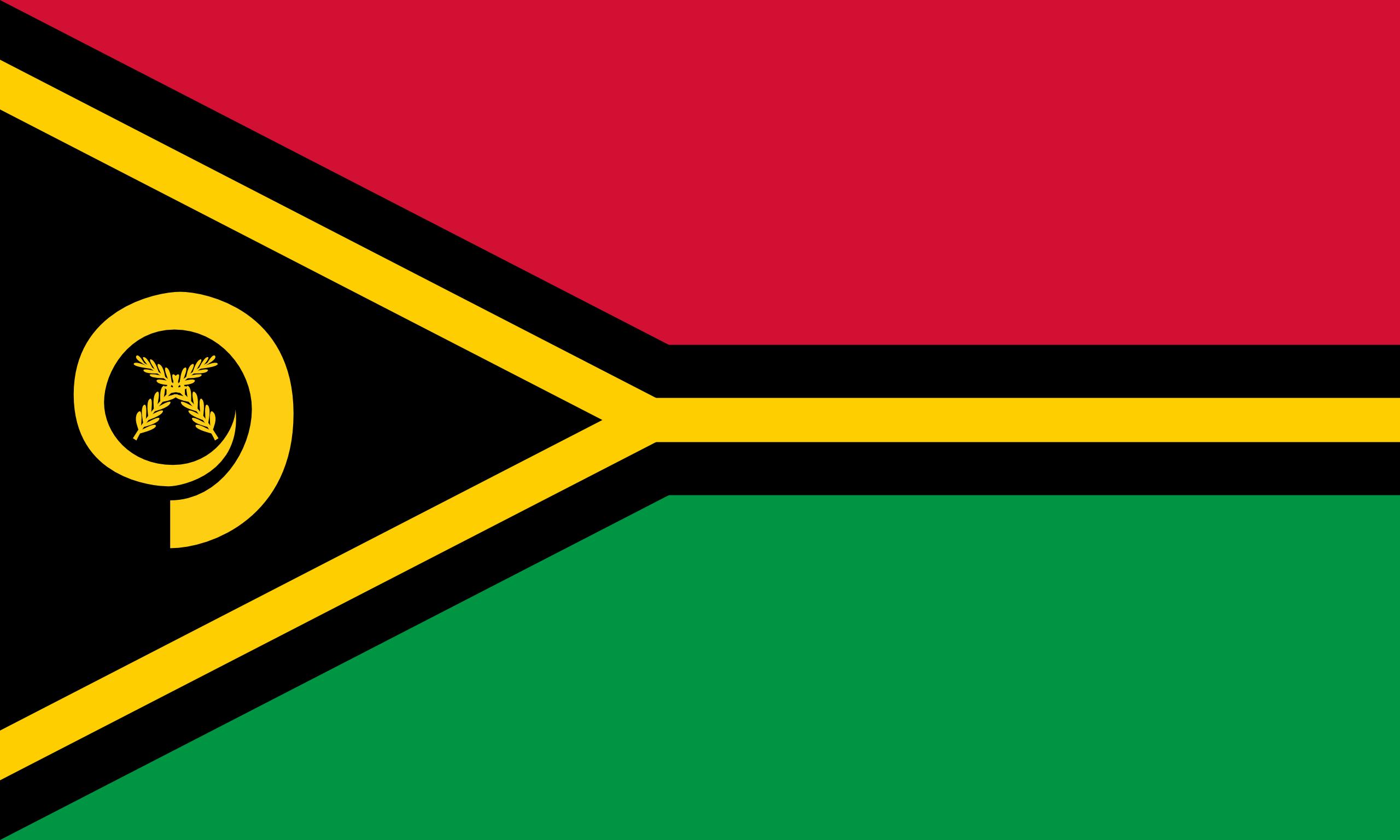 Vanuatu, pays, emblème, logo, symbole - Fonds d'écran HD - Professor-falken.com
