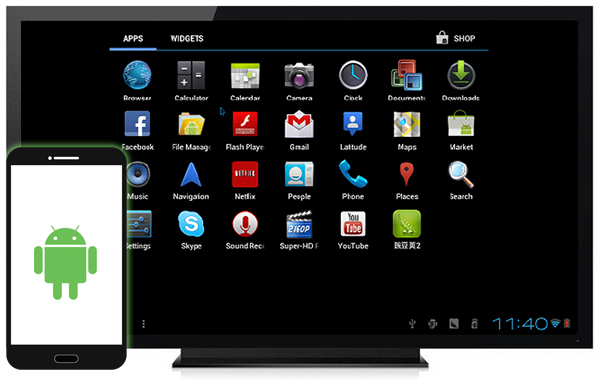 Como controlar um TV Android de seu Smartphone