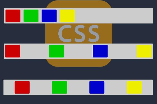 Wie Sie die Elemente in einem DIV horizontal und gleichmäßig verteilen