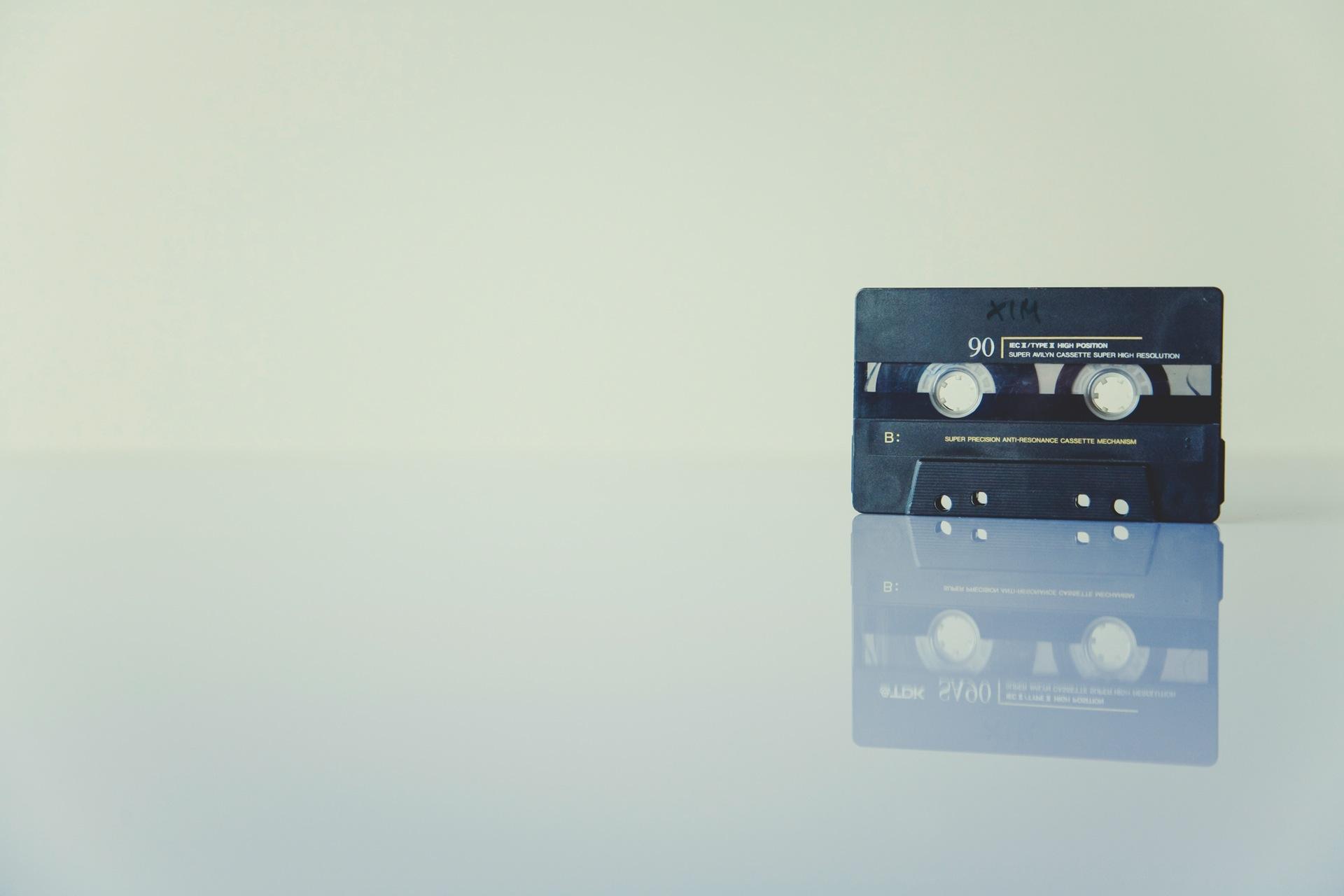 fita, cassete, vintage, retrô, minimalista - Papéis de parede HD - Professor-falken.com