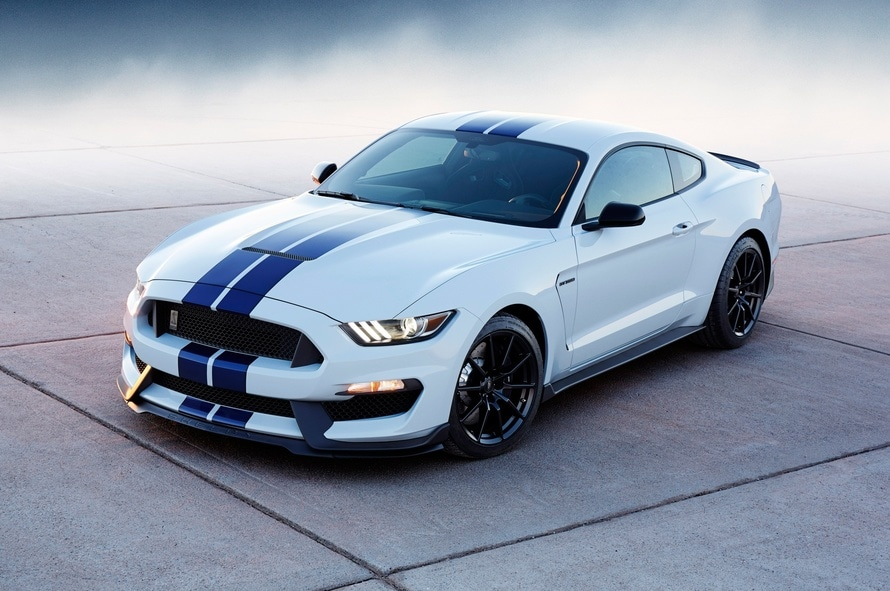 車, スポーツ車, フォード, シェルビー マスタング, ホワイト - HD の壁紙 - 教授-falken.com