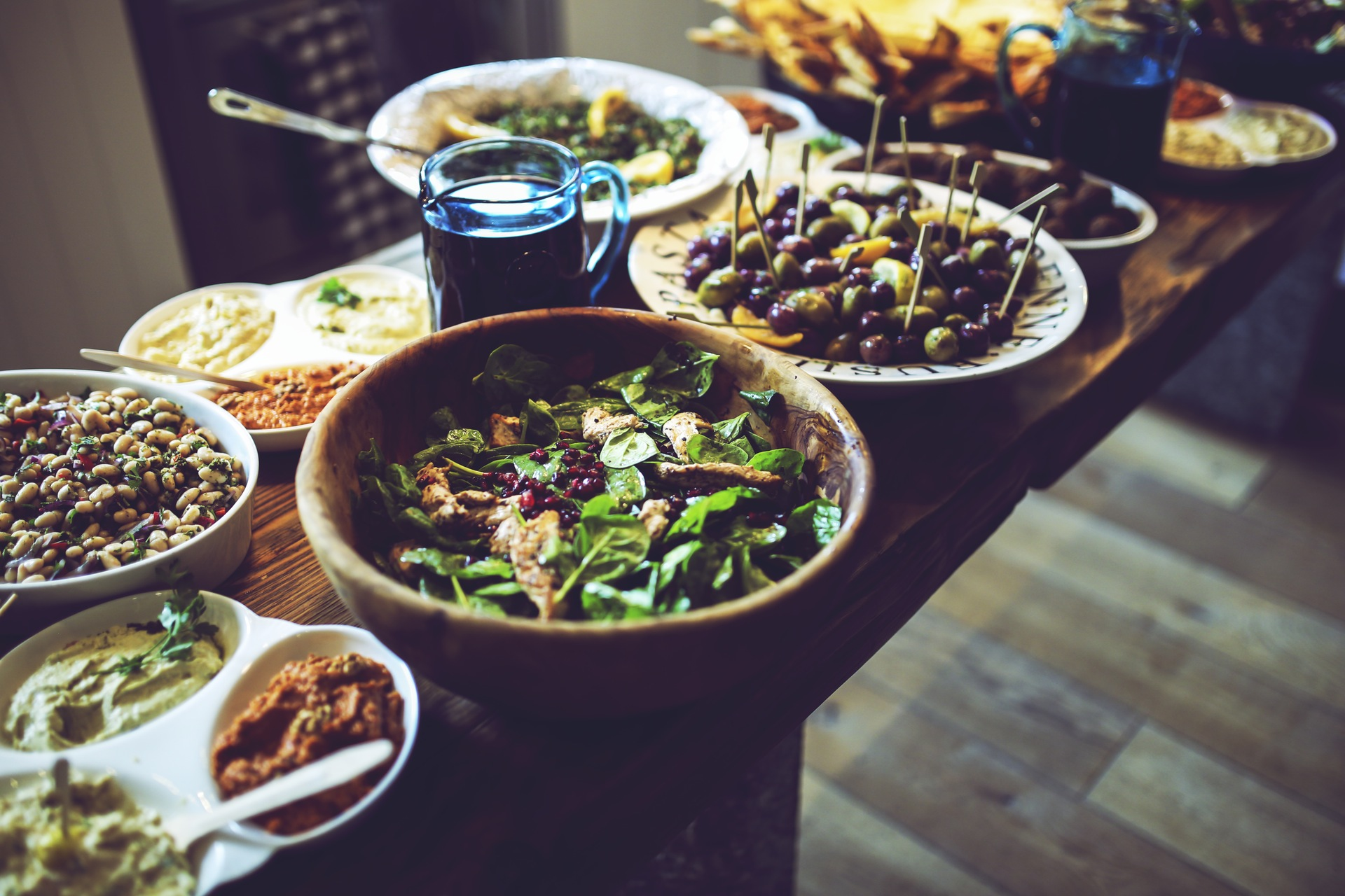 Essen, Salat, Gemüse, gesund, Küche, sehr lecker - Wallpaper HD - Prof.-falken.com