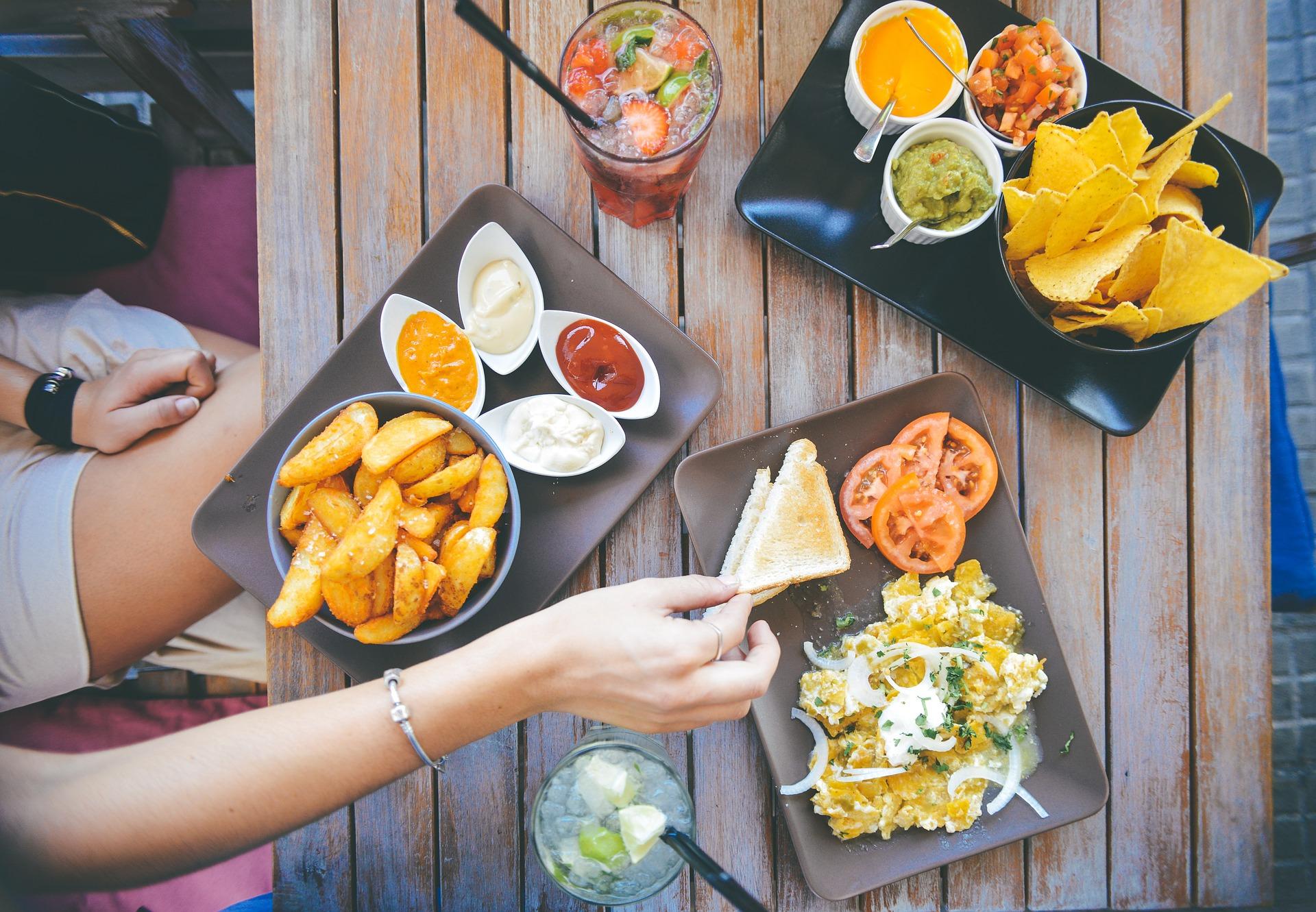 comida, tabela, restaurante, batata, molho, bebidas, saborosa, menu de - Papéis de parede HD - Professor-falken.com