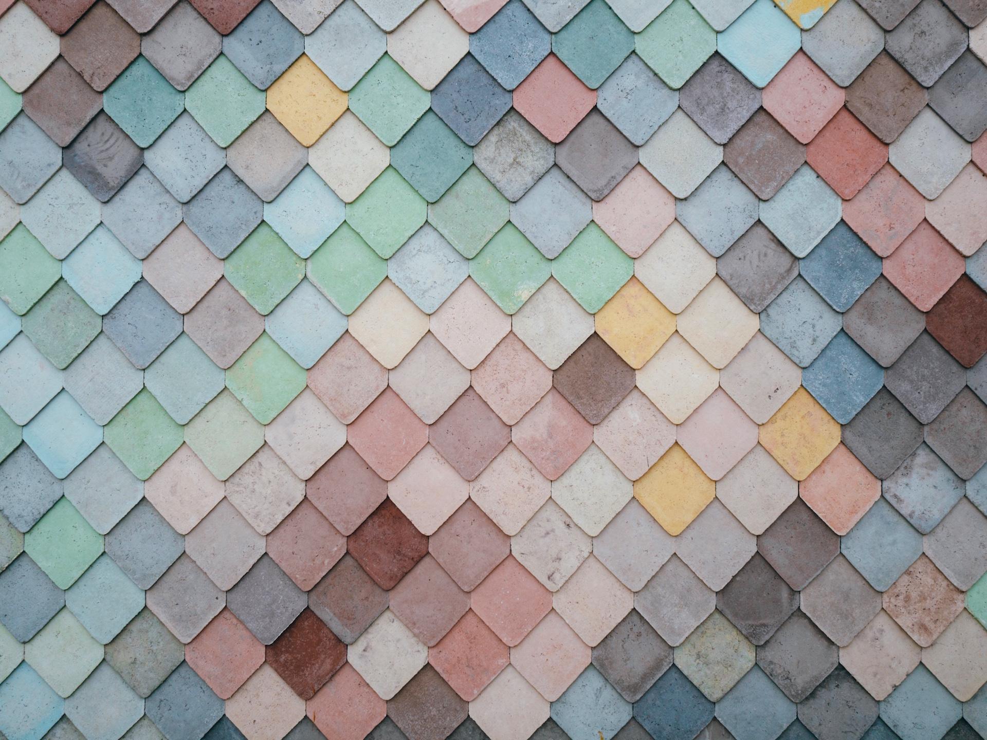 Wand, Dach, Texas, Fliese, Platten, Farben - Wallpaper HD - Prof.-falken.com