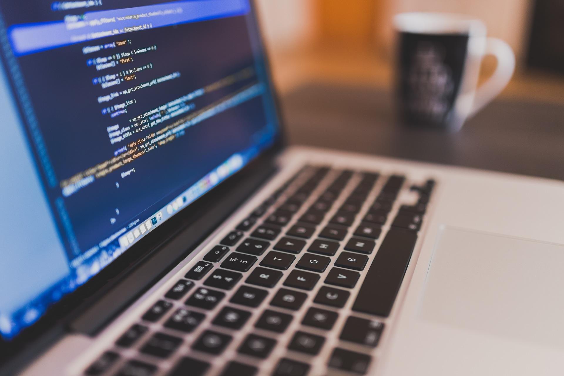 portatile, computer, programmazione, software, MacBook, codice - Sfondi HD - Professor-falken.com