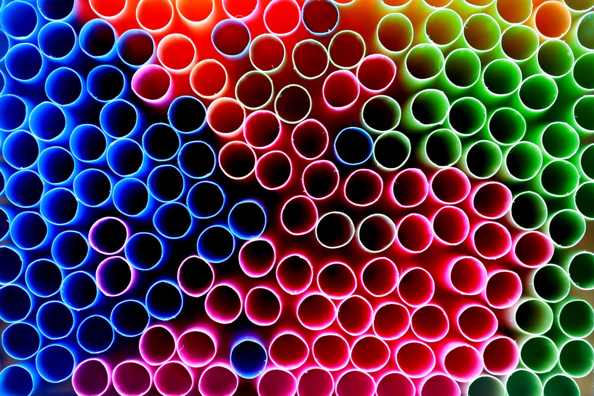 tubos, cores, círculos, colorido, quantidade - Papéis de parede HD - Professor-falken.com