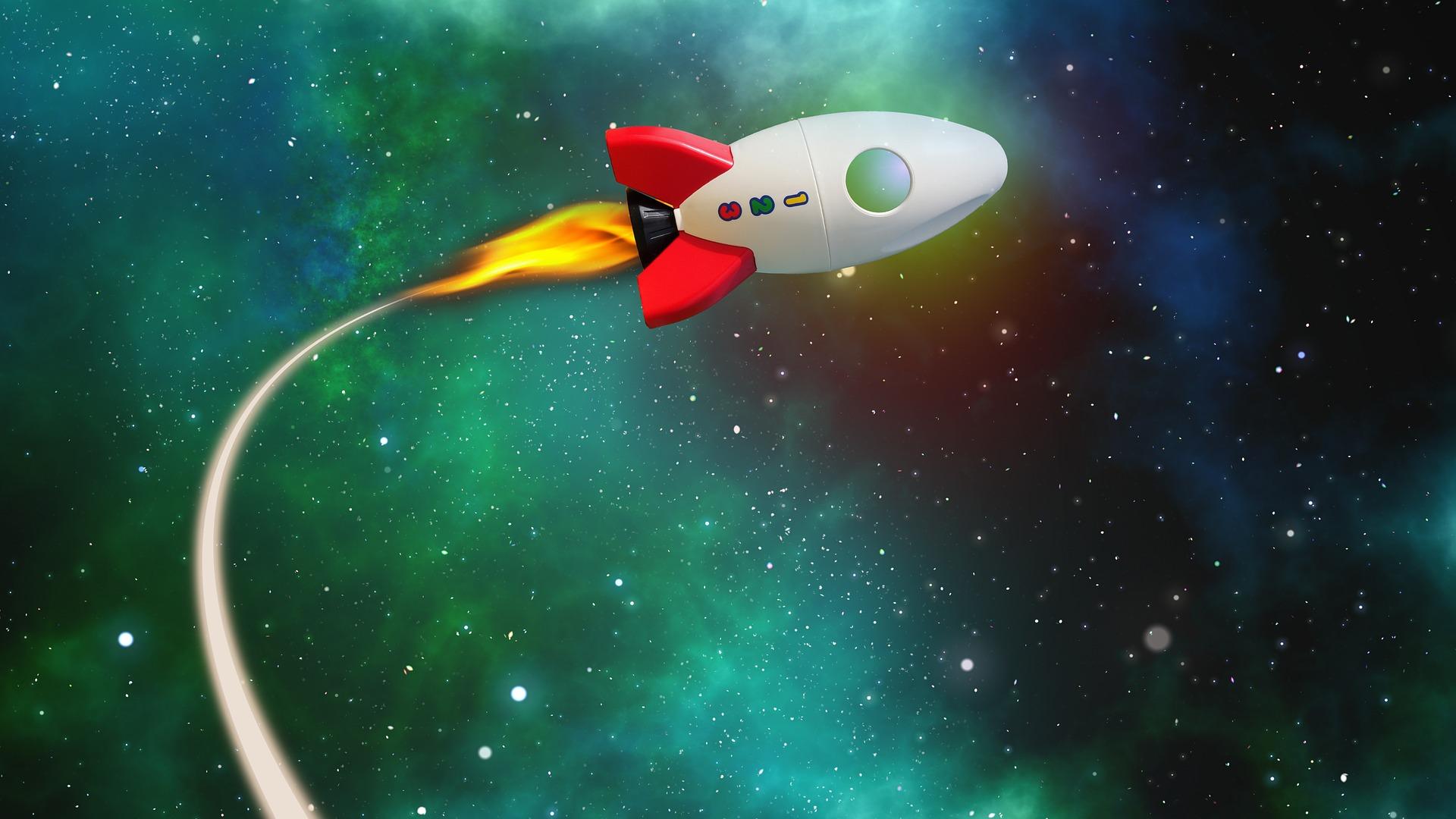 foguete, voo, universo, espaço, Estrela - Papéis de parede HD - Professor-falken.com