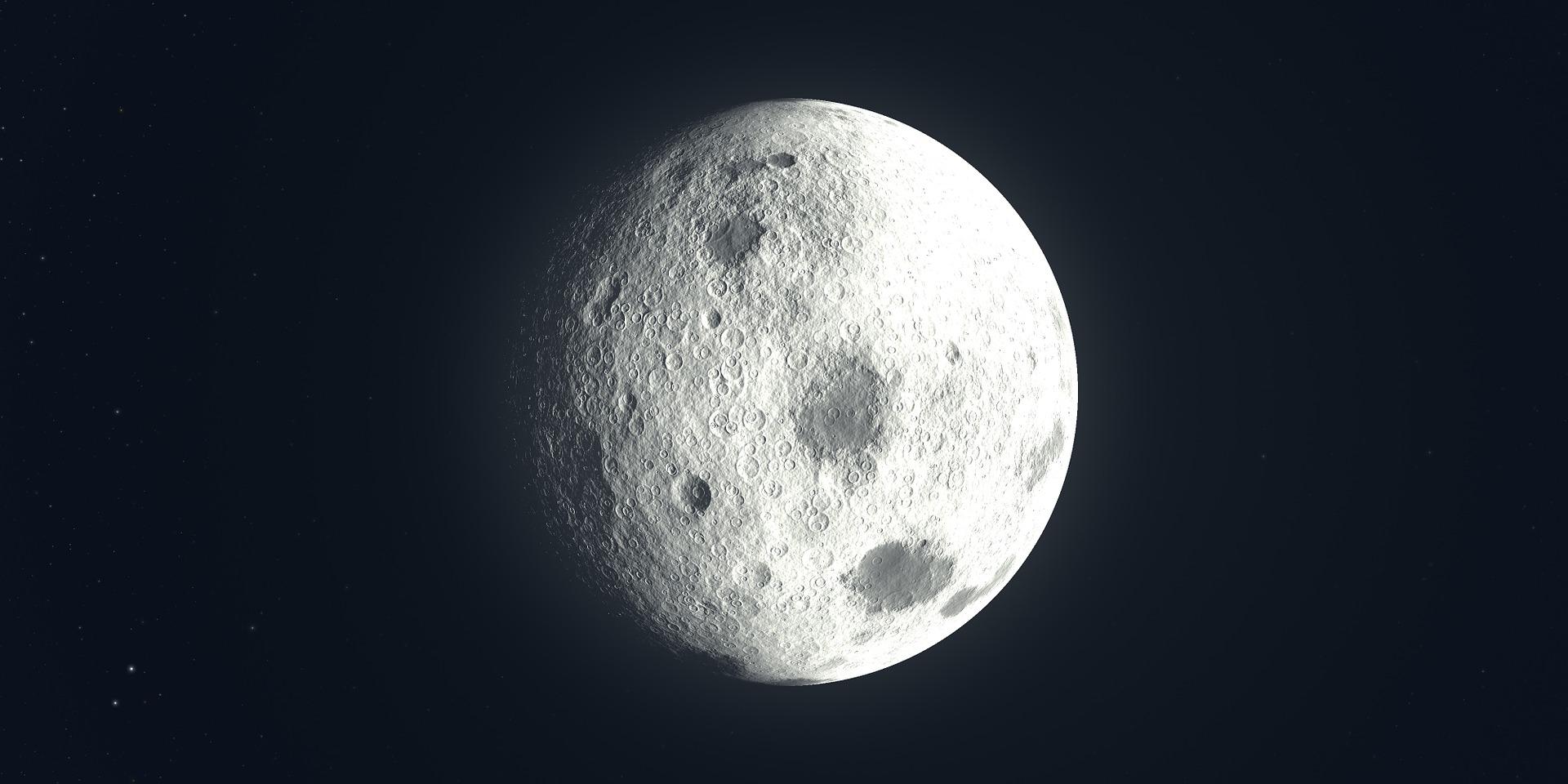 Mond, Satellit, Raum, Universum, Astronomie - Wallpaper HD - Prof.-falken.com