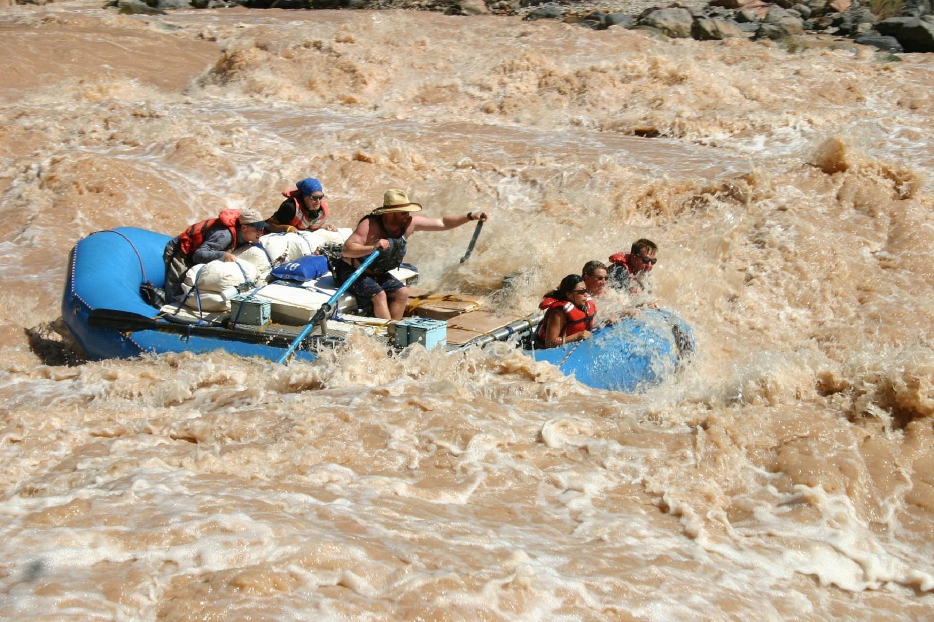 Река, быстрый, Рафтинг, Река Колорадо, риск - Обои HD - Профессор falken.com