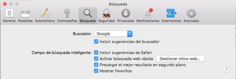 Как отключить предложения браузера Safari в OS X - Изображение 3 - Профессор falken.com