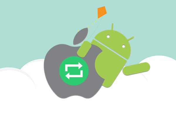 如何同步电子邮件, 联系人和日历之间 Android 和 iOS