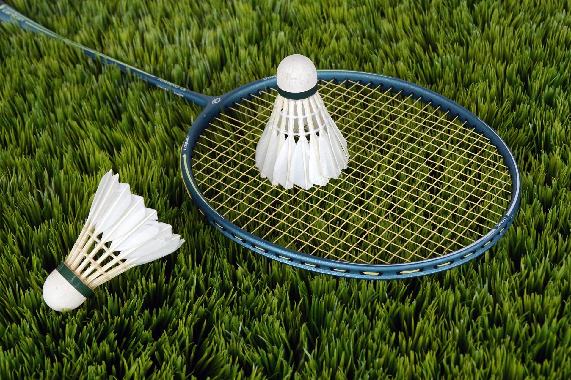 Badminton nos Jogos, raquete, concorrência, penas, gramado - Papéis de parede HD - Professor-falken.com