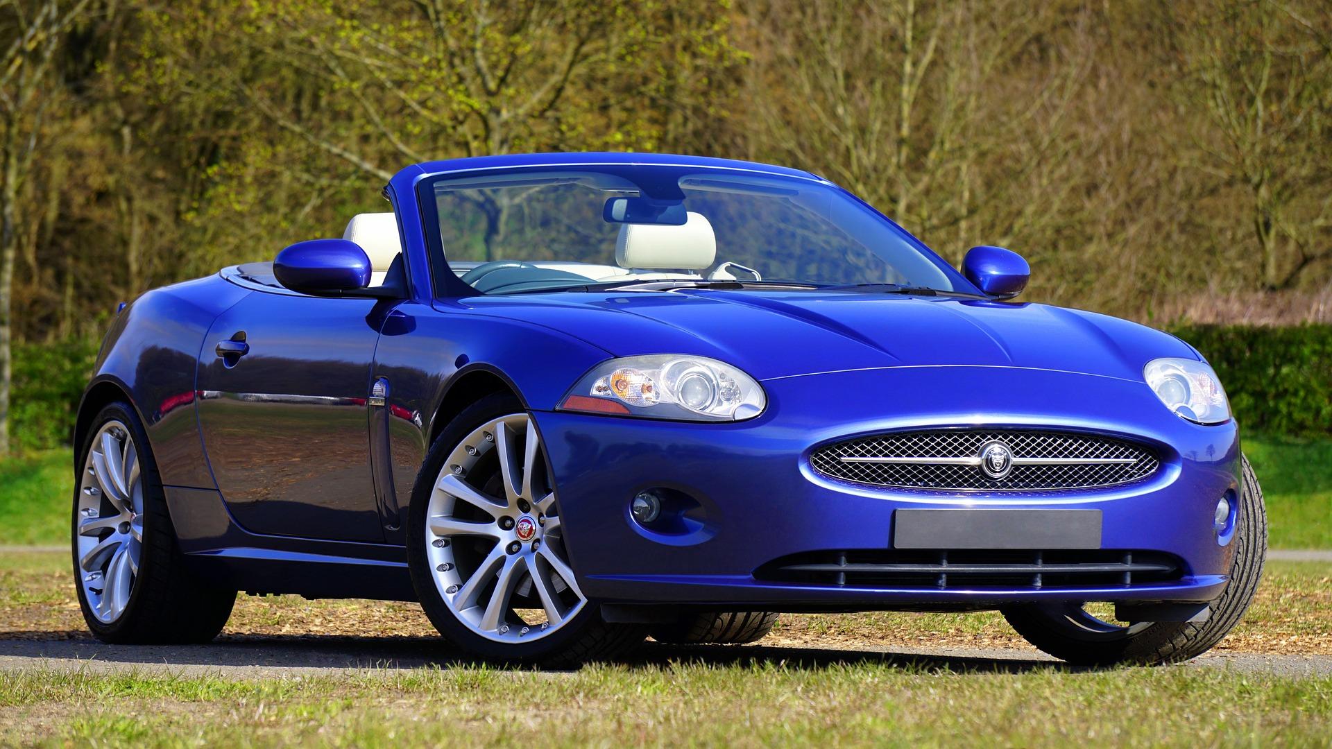 voiture, sport, luxe, Jaguar, Bleu - Fonds d'écran HD - Professor-falken.com