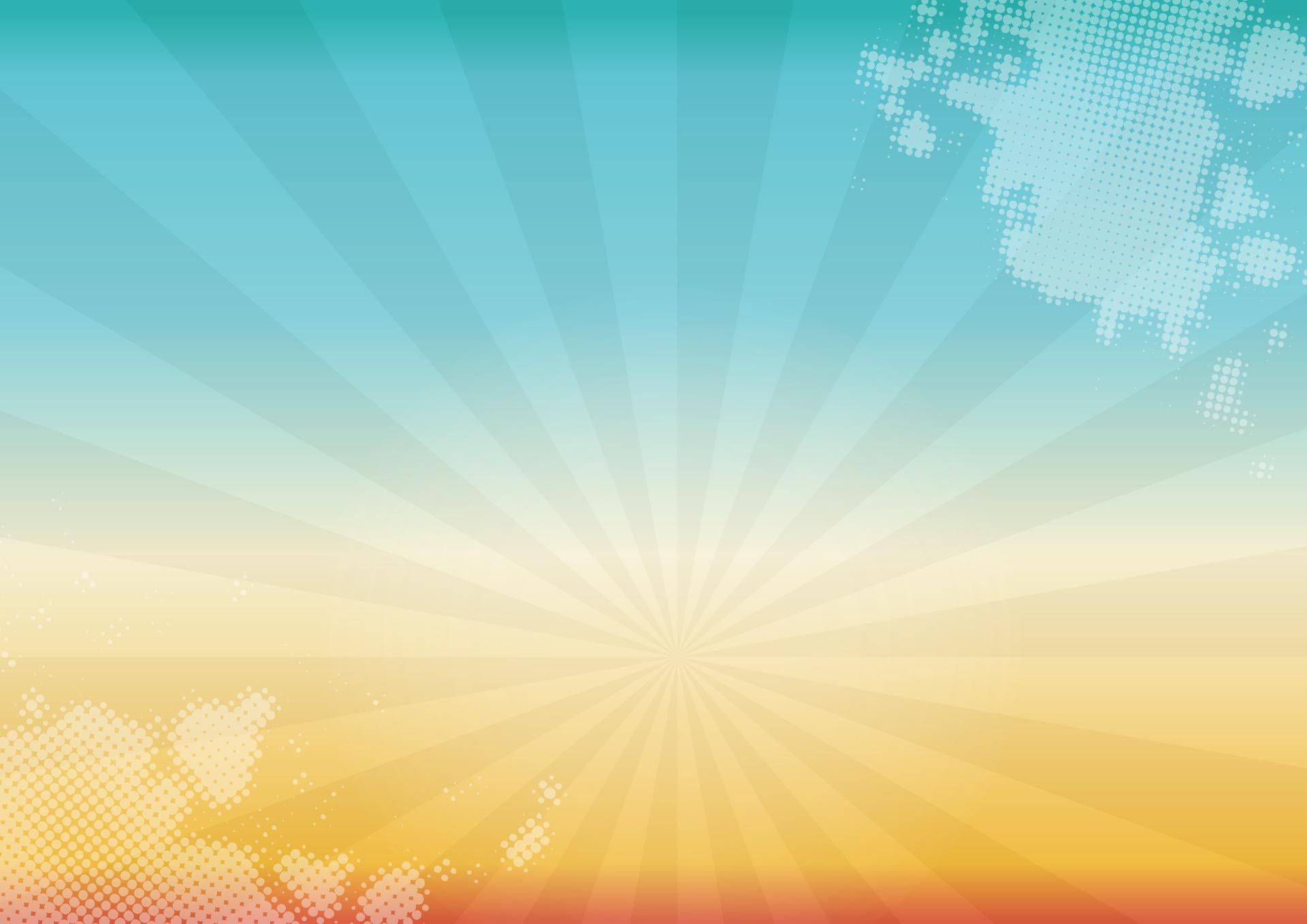 gradiente, Raios, luzes, nuvens, colorido - Papéis de parede HD - Professor-falken.com