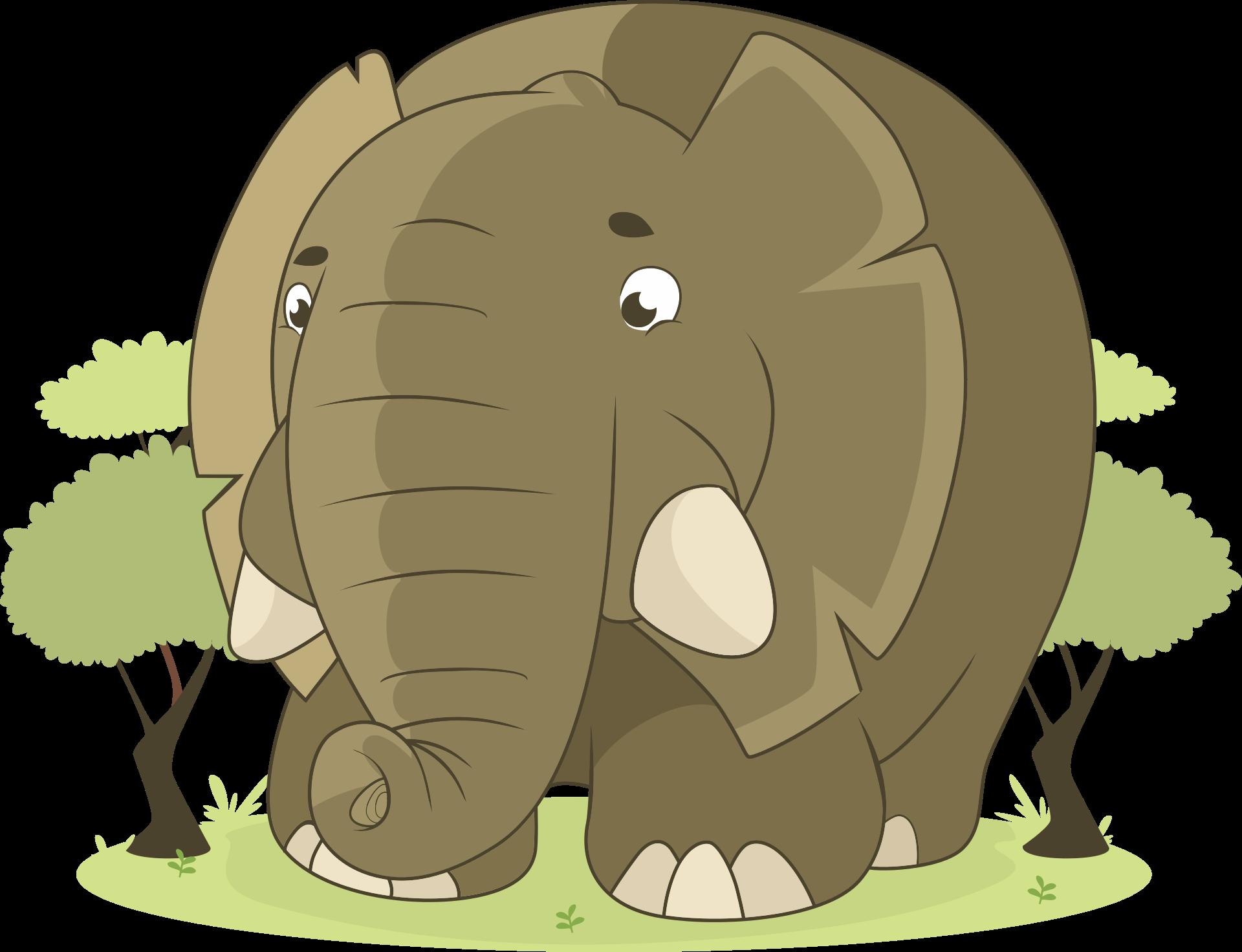 Слон, джунгли, Саванна, Африка, большие - Обои HD - Профессор falken.com