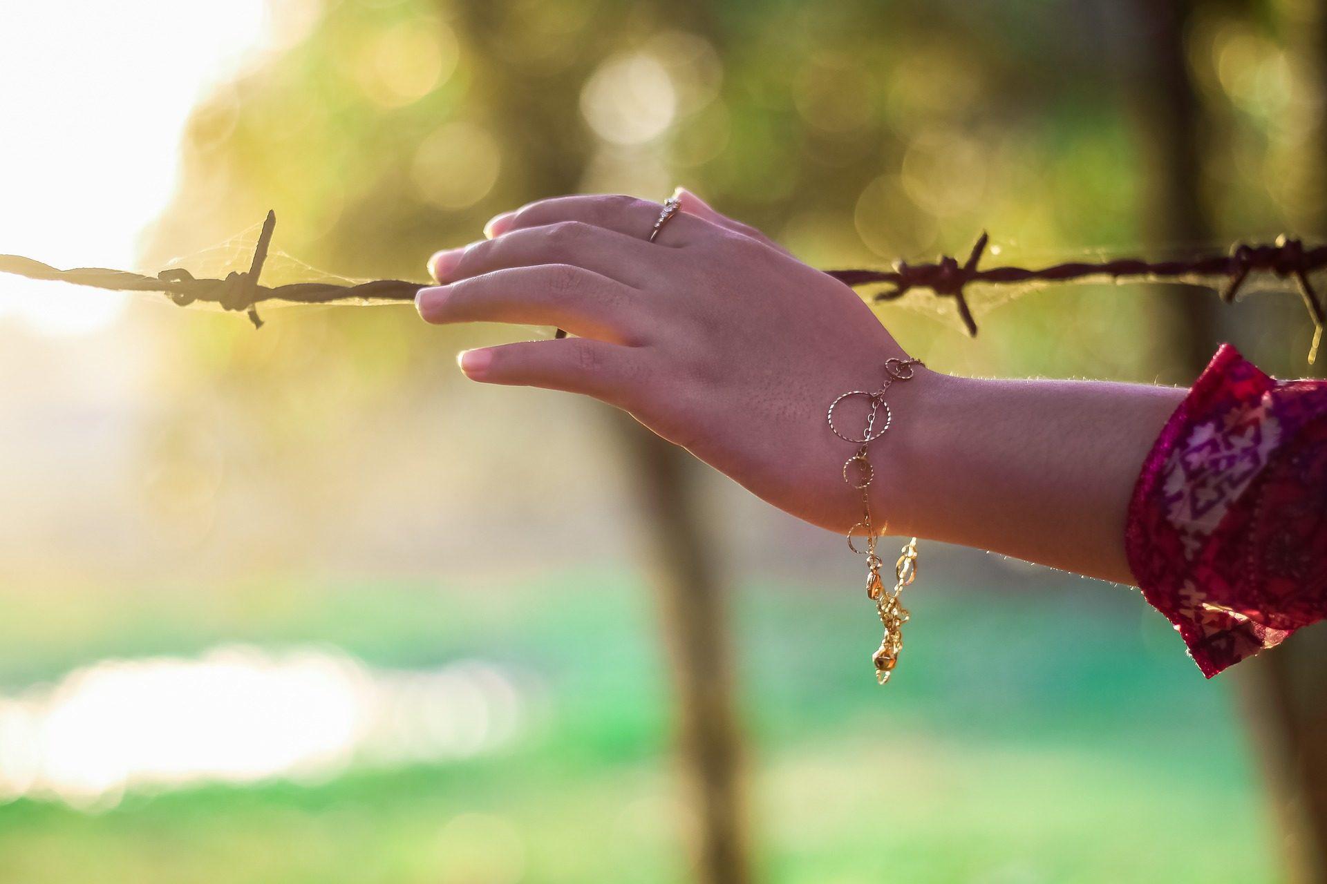 手, 女人, 手镯, 栅栏, 字段 - 高清壁纸 - 教授-falken.com