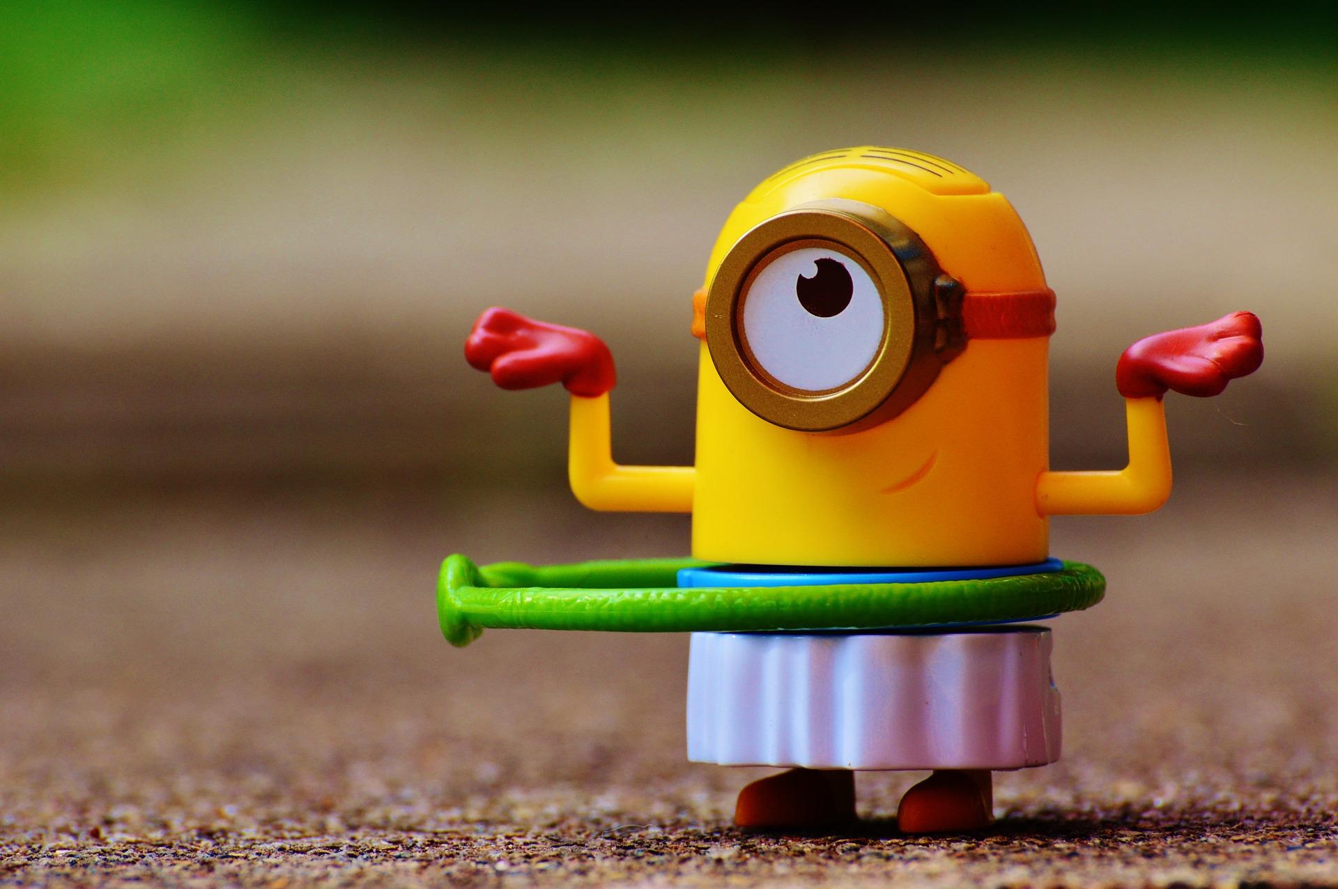 minion, aro, juguete, figura, ojo - Fondos de Pantalla HD - professor-falken.com