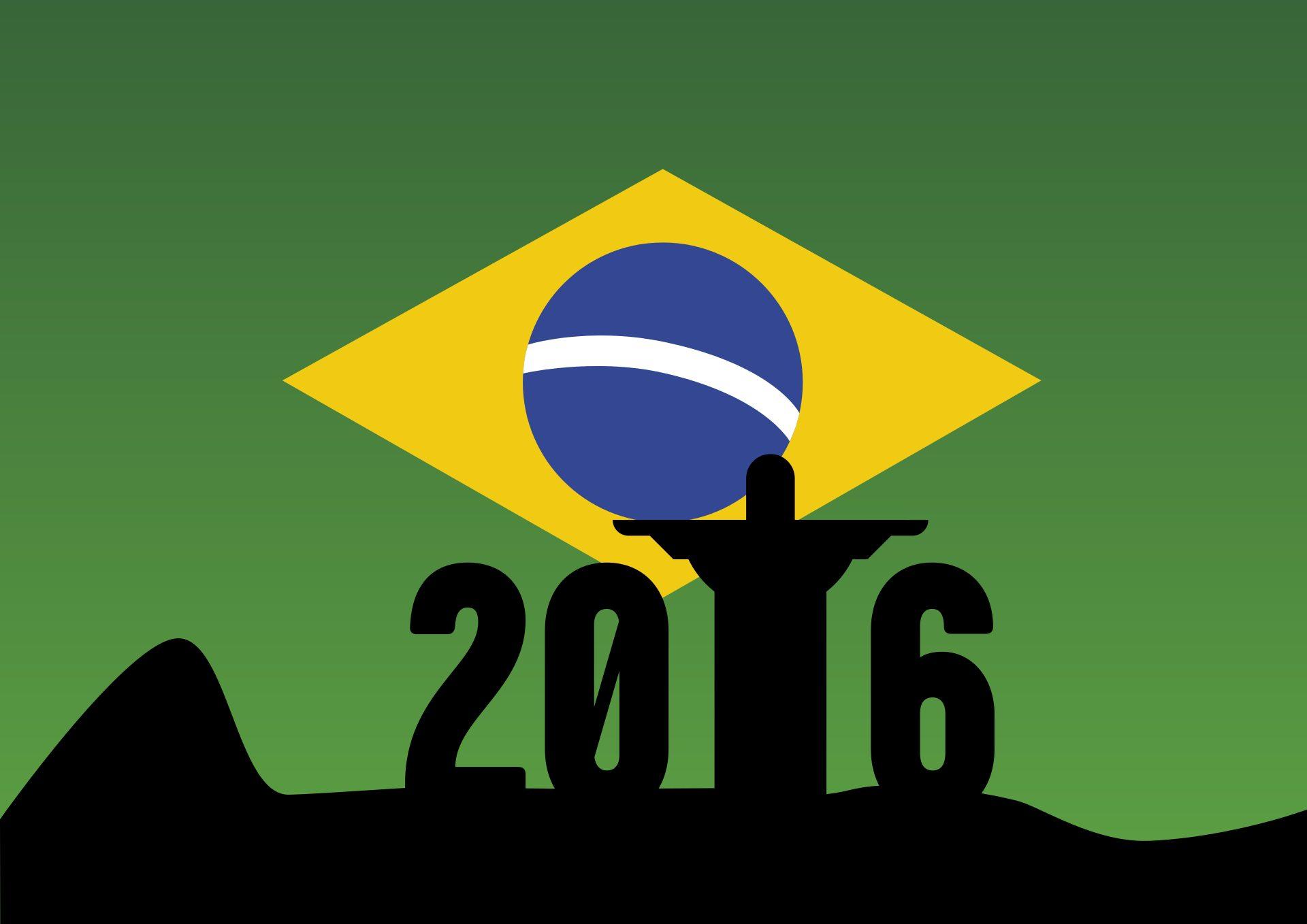 Ολυμπιακοί Αγώνες, Ρίο ντε Τζανέιρο διακοπές, Ολυμπιακά παιχνίδια, Βραζιλία, Κρίστο corcovado - Wallpapers HD - Professor-falken.com