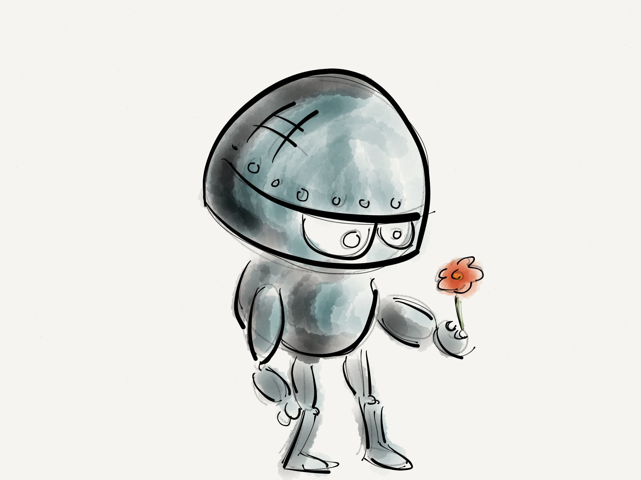 रोबोट, फूल, प्रौद्योगिकी, भविष्य, नवाचार - HD वॉलपेपर - प्रोफेसर-falken.com