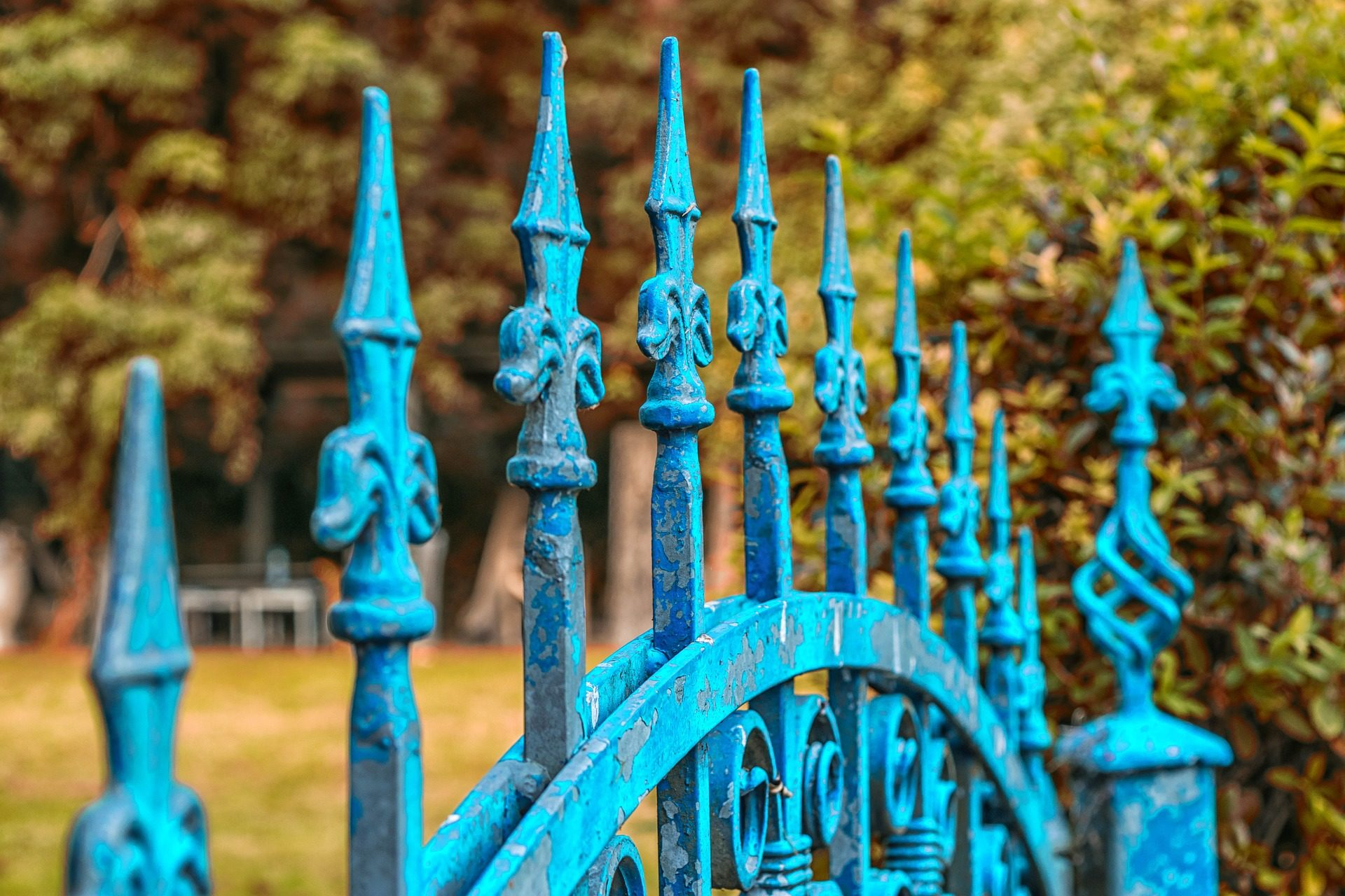 clôture, porte, Jardin, décoration, Vintage - Fonds d'écran HD - Professor-falken.com