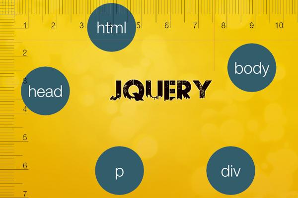 JQuery में एक तत्व की ऊंचाई या कुल चौड़ाई प्राप्त करने के लिए कैसे