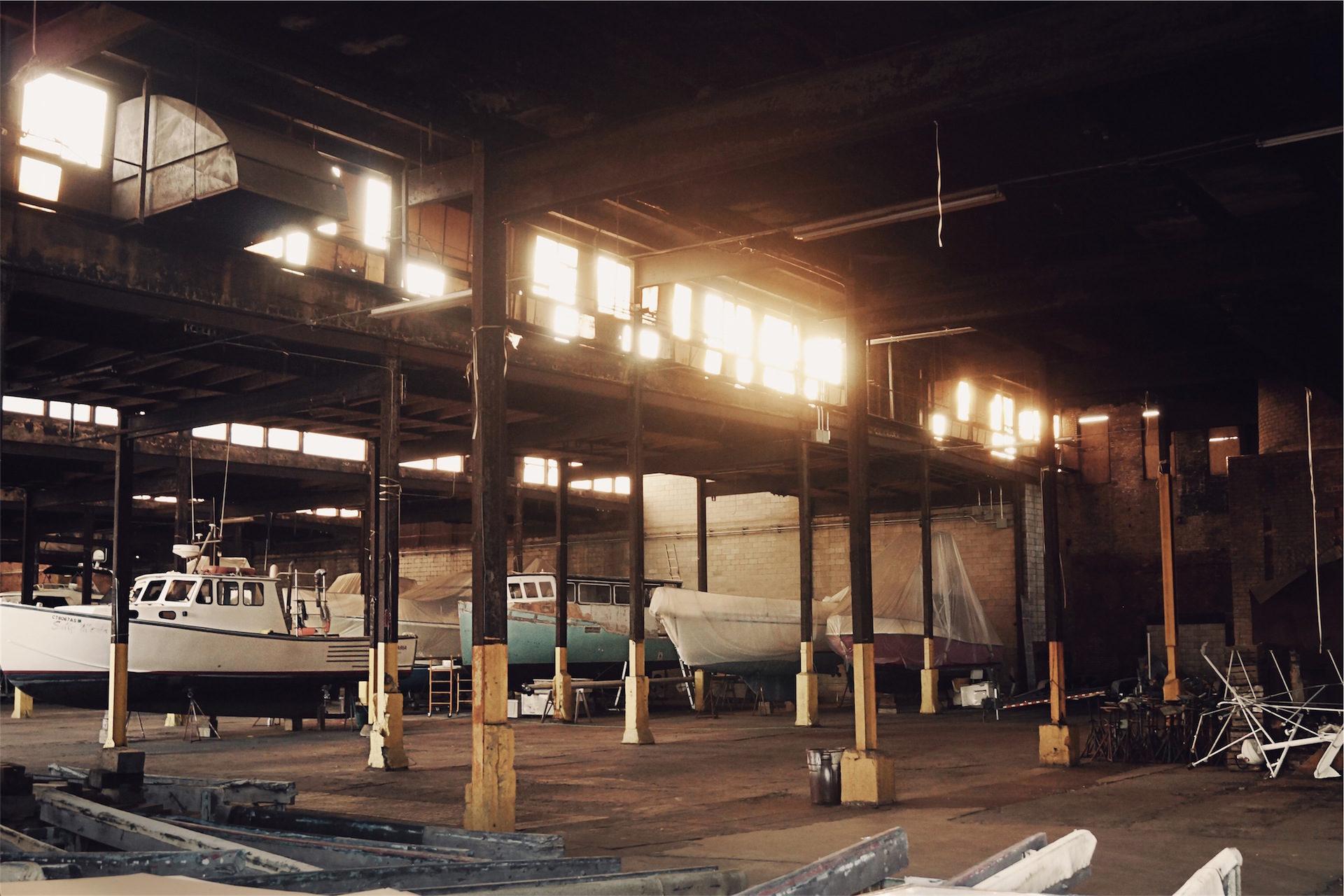 barcos, muelle, puerto, ventanas, luces - Fondos de Pantalla HD - professor-falken.com