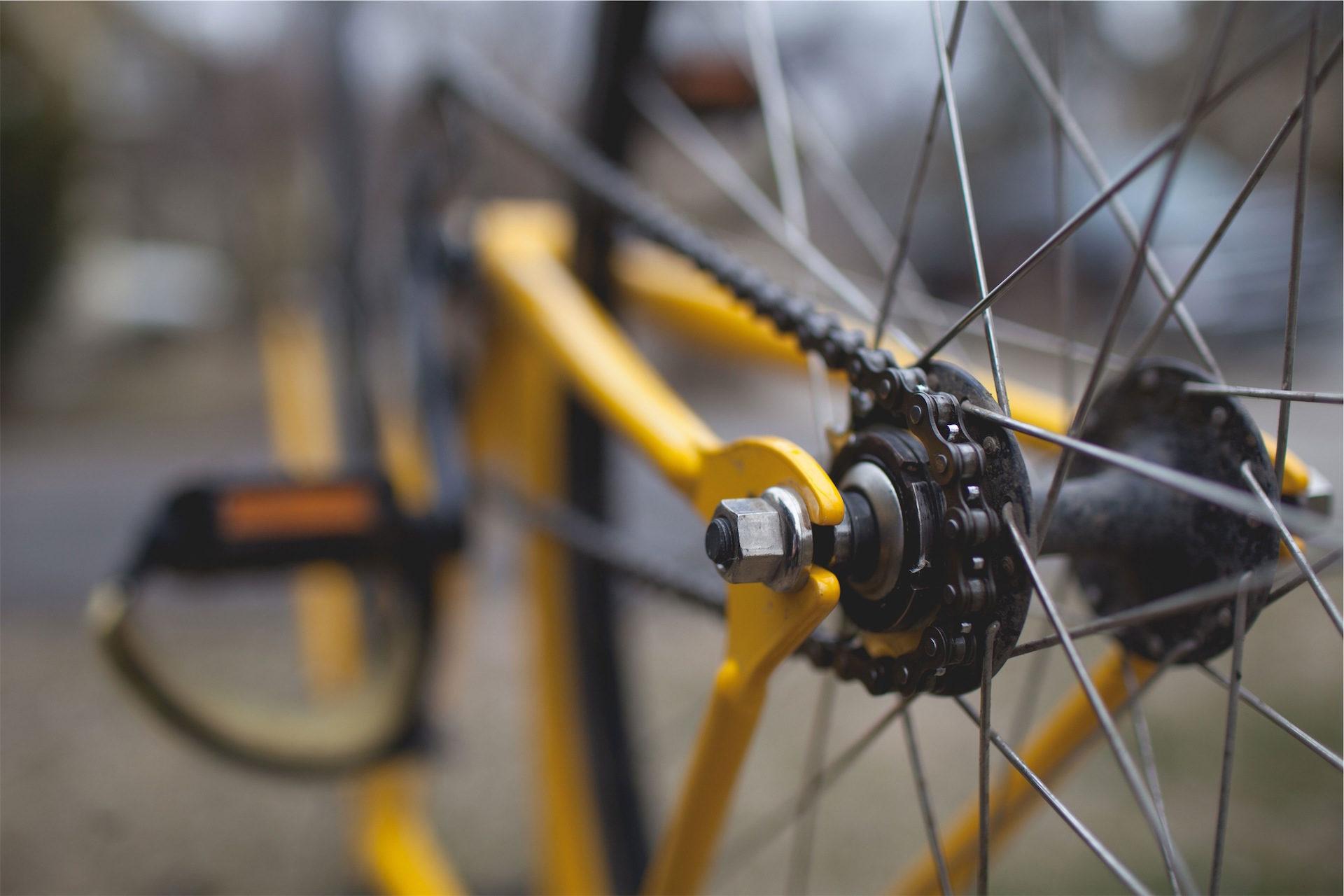 自転車, rueda, チェーン, pedal, 黄色 - HD の壁紙 - 教授-falken.com