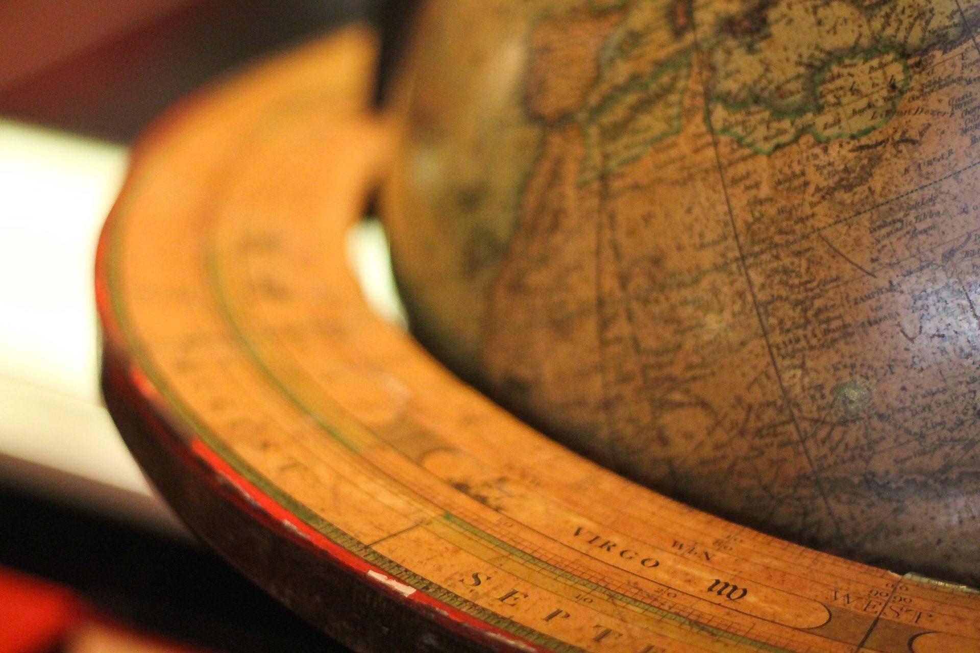 μπάλα, mundo, esfera, Χάρτης, mundi - Wallpapers HD - Professor-falken.com