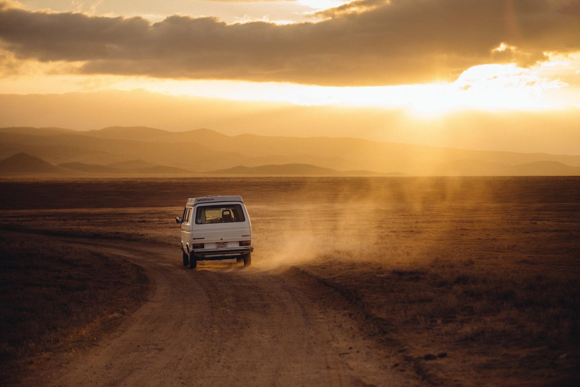 Ван, пустыня, Закат, песок, порошок - Обои HD - Профессор falken.com