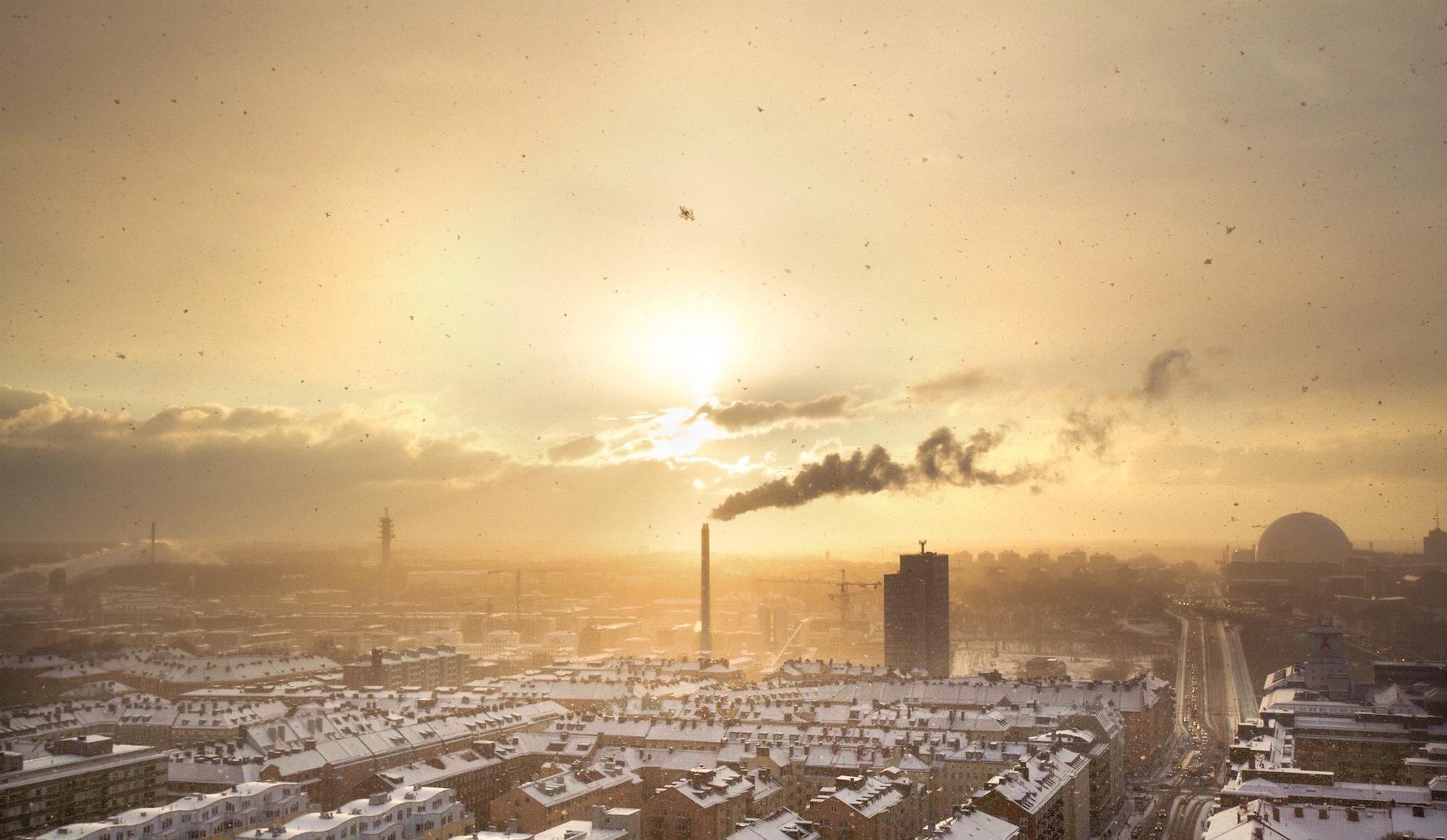 καπνός, σύννεφα, polución, contaminación, σκόνη - Wallpapers HD - Professor-falken.com