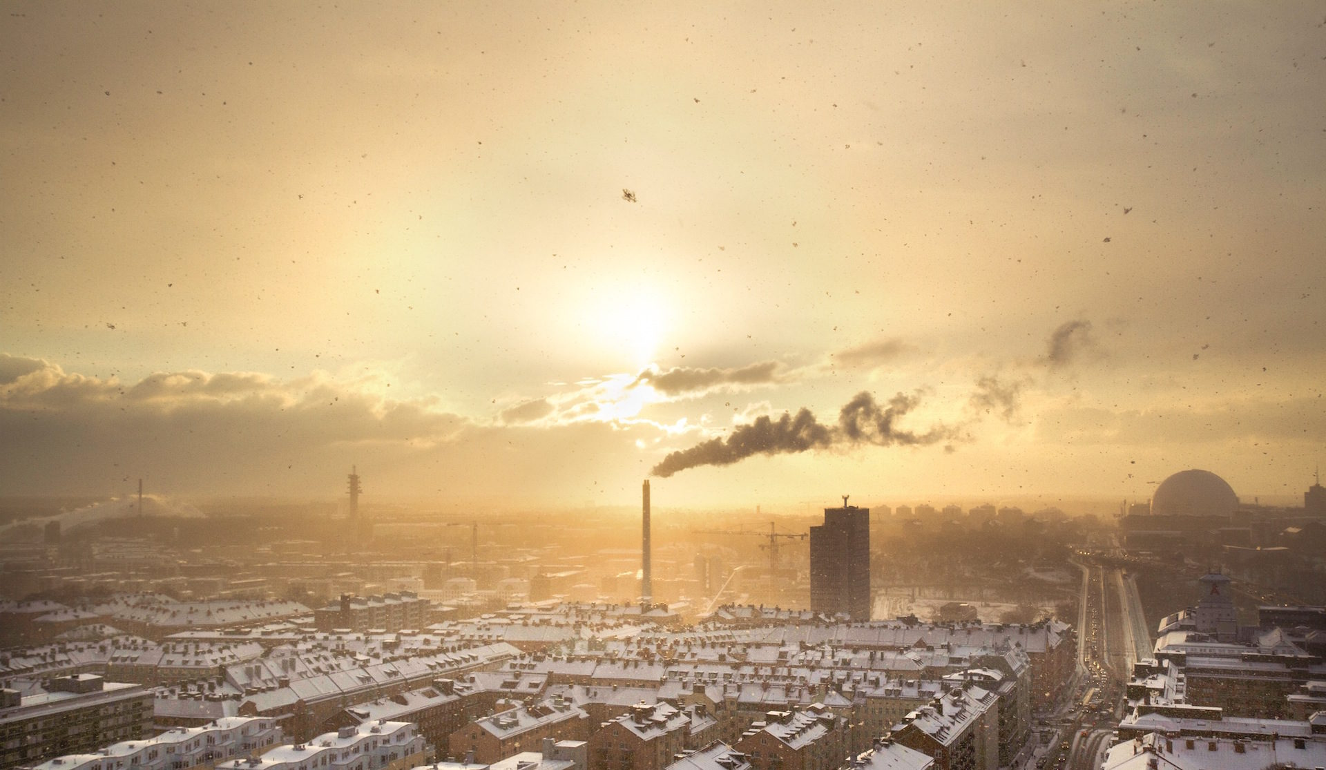fumo, nuvole, polución, inquinamento, polvere - Sfondi HD - Professor-falken.com