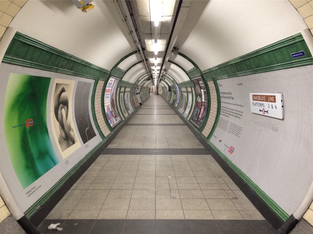 metro, estación, suburbano, soledad, vacío, 1609232018