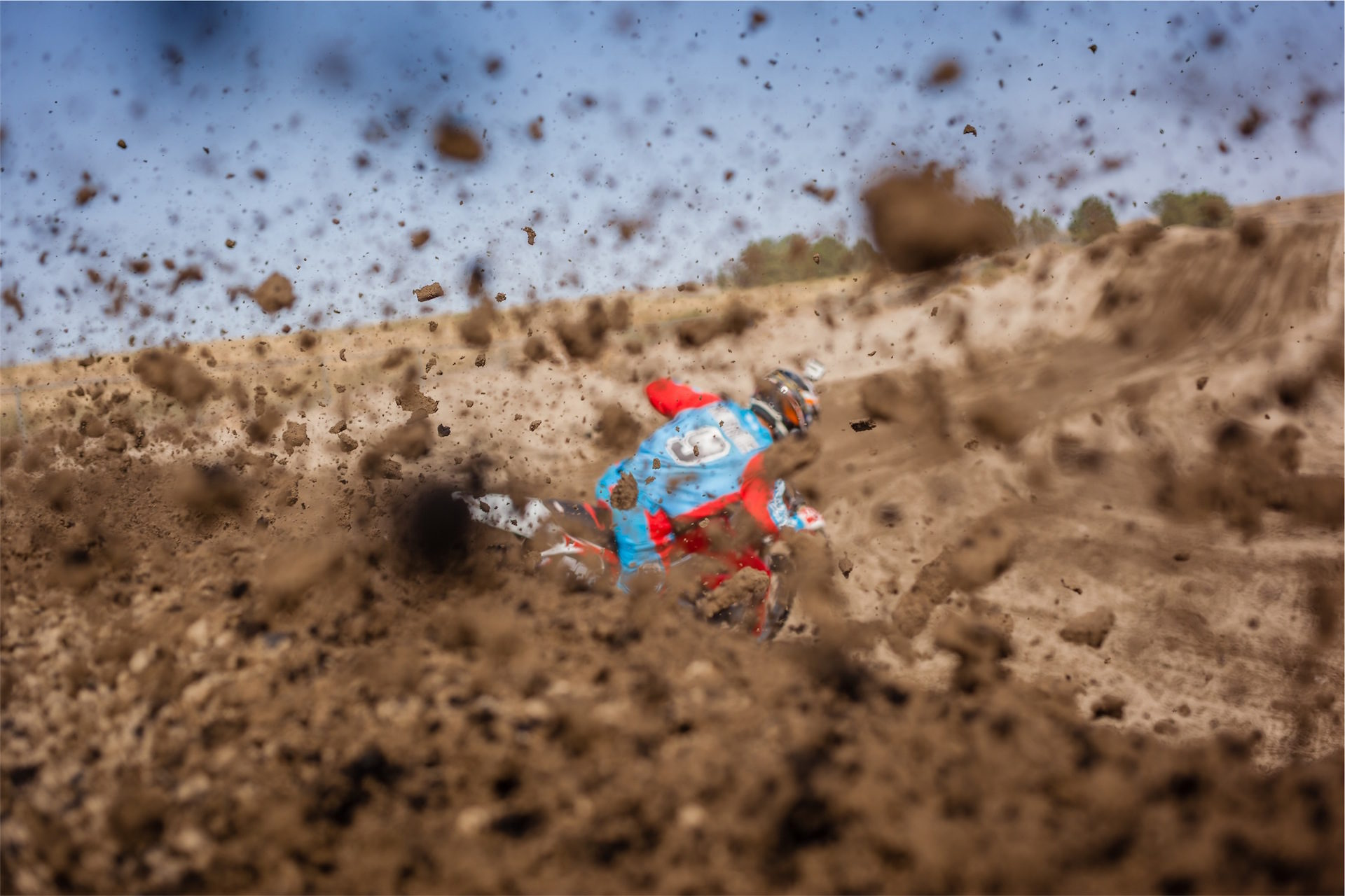 Мотокросс, мотоцикл, грязи, дрейф, риск - Обои HD - Профессор falken.com