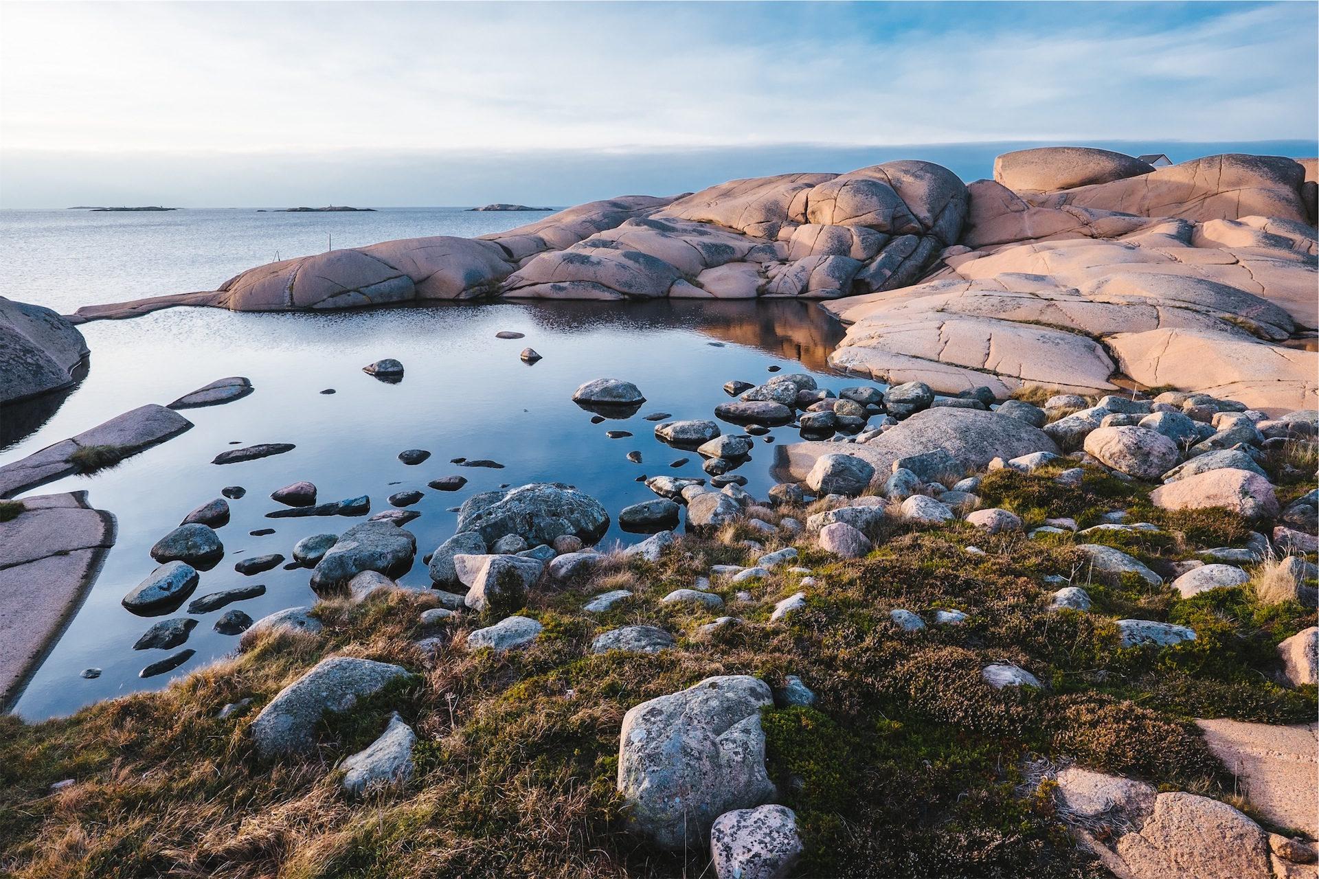 océano, piedras, orilla, mar, cielo - Fondos de Pantalla HD - professor-falken.com