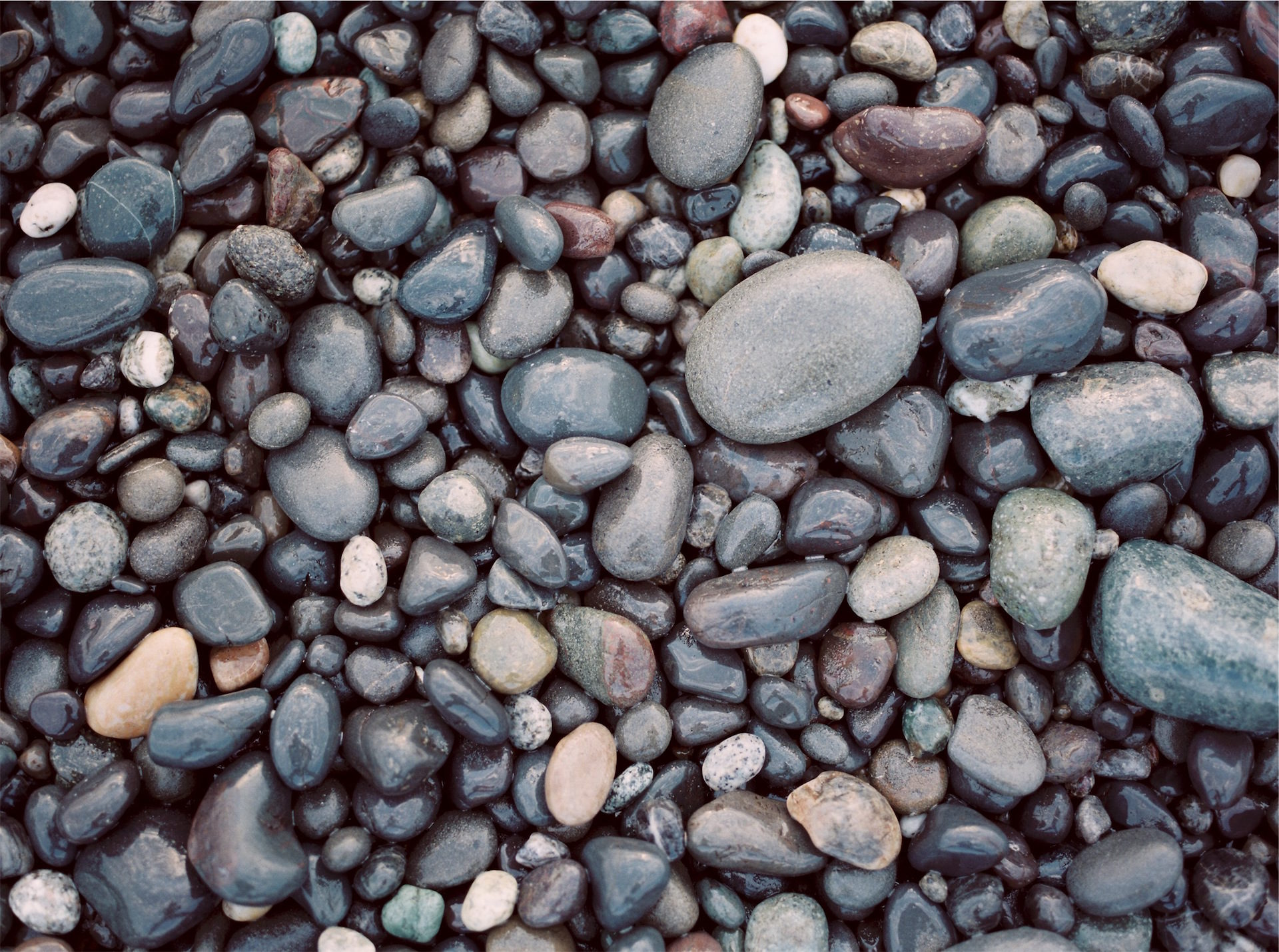 piedras, playa, agua, caos, formas - Fondos de Pantalla HD - professor-falken.com