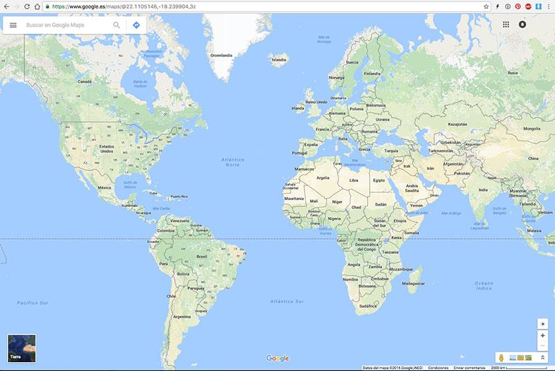 Πώς να πάρει τις συντεταγμένες του GPS οποιαδήποτε τοποθεσία στο Google Maps - Εικόνα 1 - Professor-falken.com