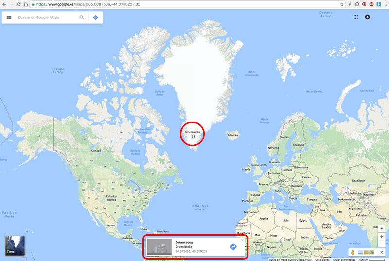 Πώς να πάρει τις συντεταγμένες του GPS οποιαδήποτε τοποθεσία στο Google Maps - Εικόνα 2 - Professor-falken.com
