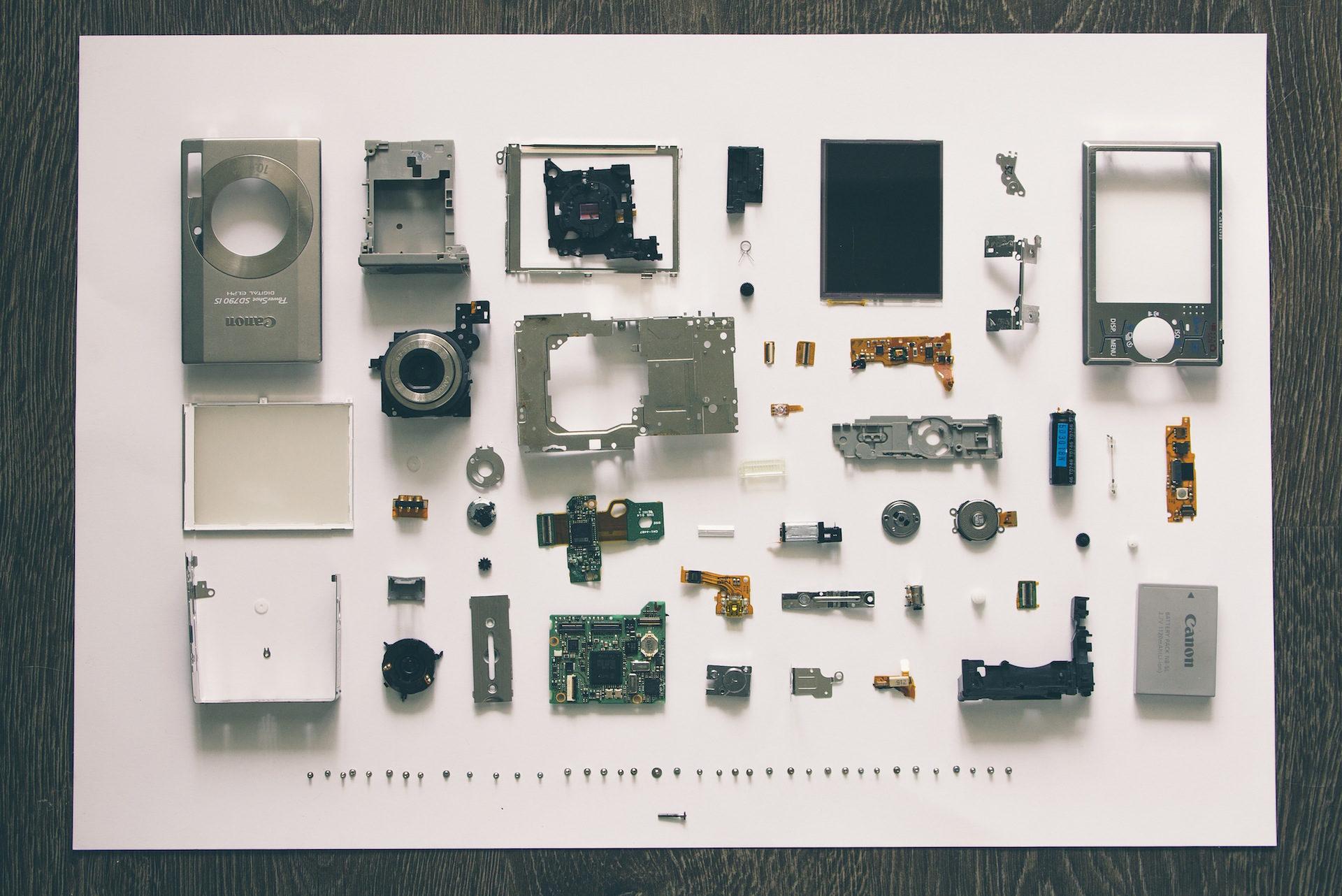 カメラ, 写真, piezas, desmontaje, componentes - HD の壁紙 - 教授-falken.com