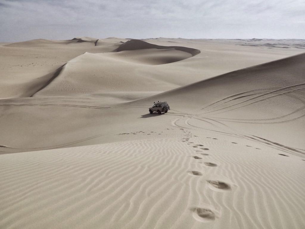desierto, coche, huellas, pisadas, dunas, 1610231206