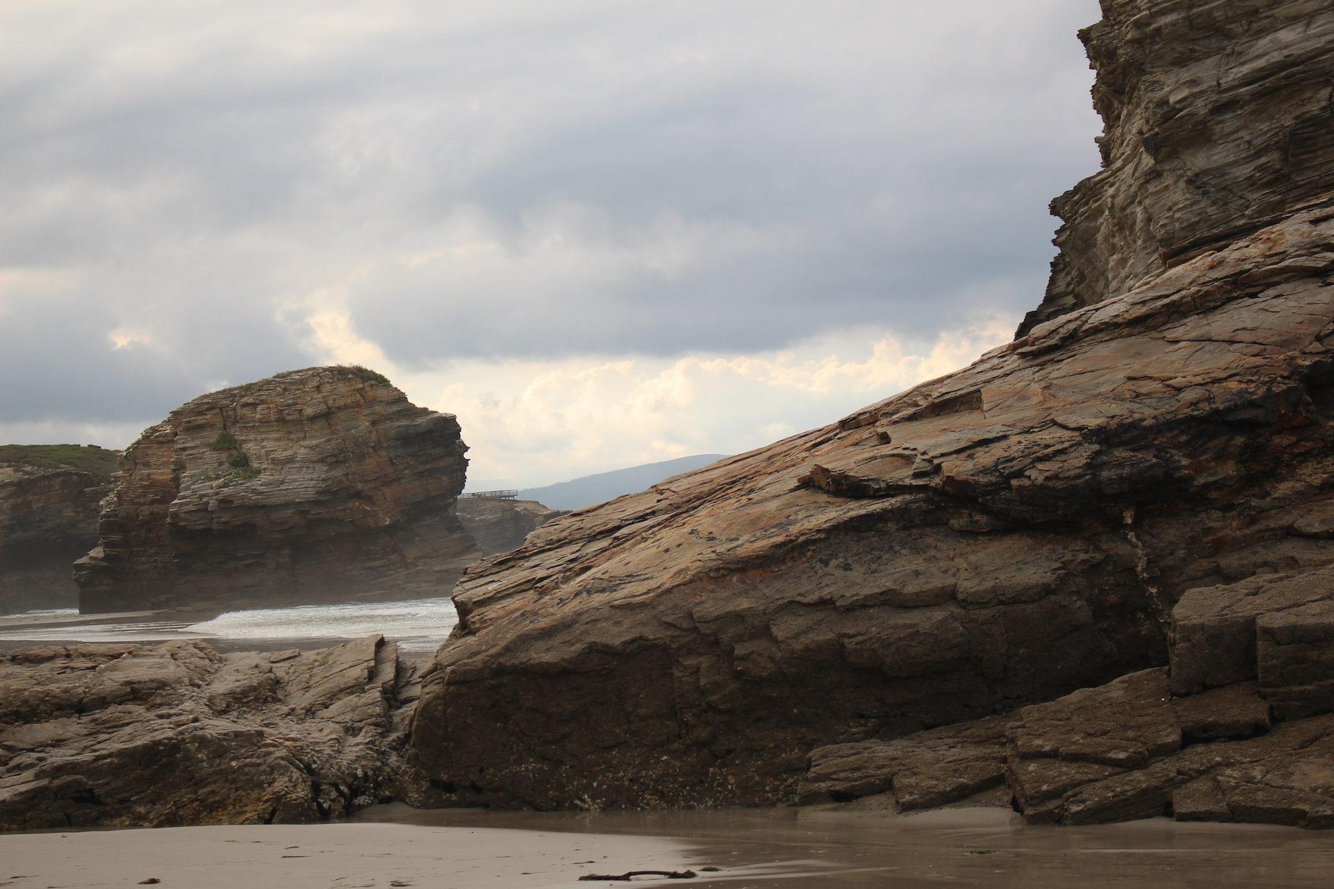 समुद्र तट, catedrales, Rocas, ribadeo, galicia - HD वॉलपेपर - प्रोफेसर-falken.com