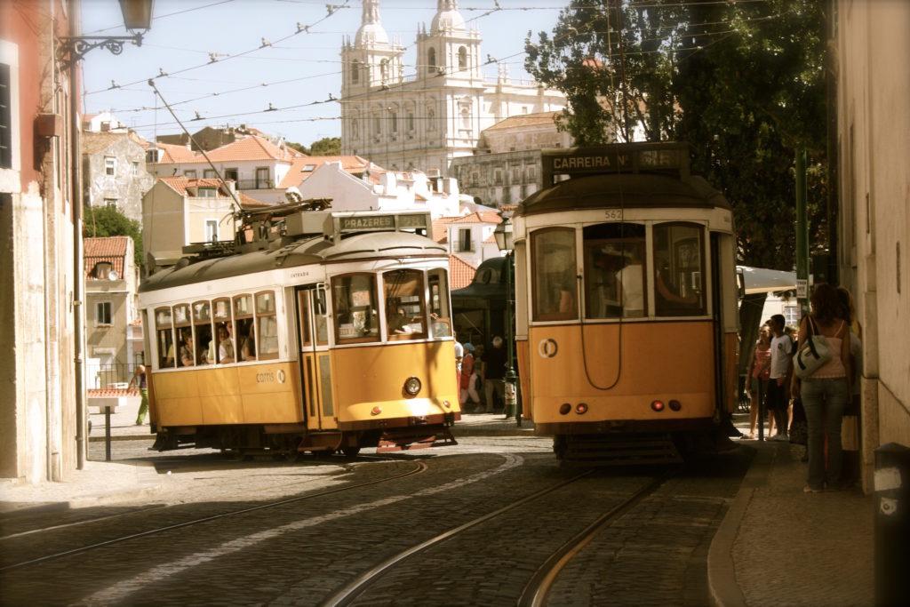 tranvía, ciudad, edificios, vías, turismo, 1610201230