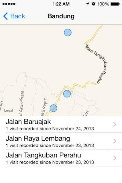 Comment accéder à l'historique des emplacements sur votre iPhone - Image 5 - Professor-falken.com