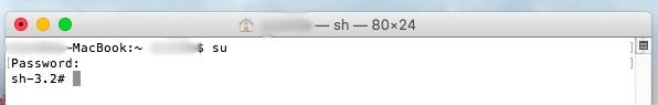 如何激活 Mac OS X 中的 root 用户 - 图像 2 - 教授-falken.com