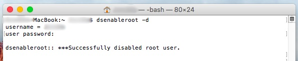 Comment faire pour activer l'utilisateur root dans Mac OS X - Image 3 - Professor-falken.com