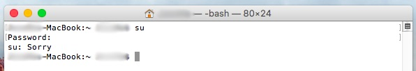 Comment faire pour activer l'utilisateur root dans Mac OS X - Image 4 - Professor-falken.com