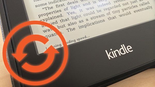 Comment mettre à jour votre Kindle si vous avez passé la mise à jour limite de date (22 Mars)
