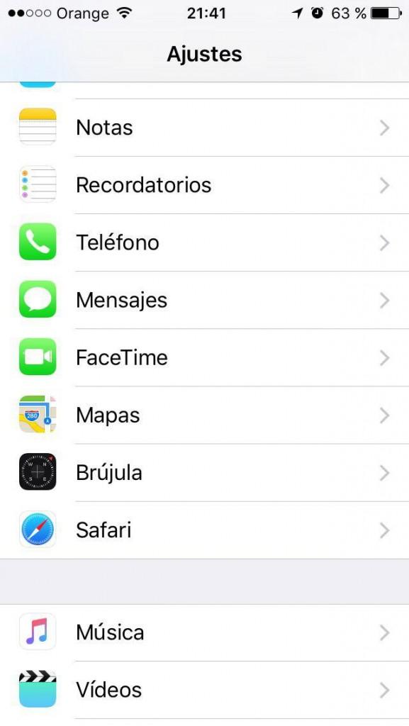Como borrar el historial, la cache y las cookies, y navegar de forma privada en Safari en el iPhone - छवि 2 - प्रोफेसर-falken.com