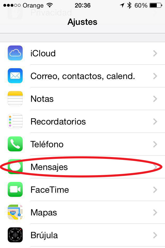 आपने iMessage iPhone पर अक्षम करने के लिए कैसे - छवि 2 - प्रोफेसर-falken.com
