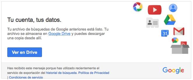 Cómo descargarte tu historial de búsquedas en Google - Image 5 -professor-falken.com