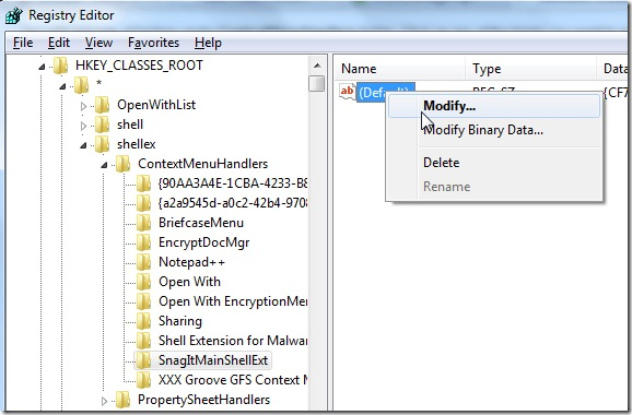 Gewusst wie: Entfernen von Anwendungen aus dem Windows-Kontextmenü - Bild 2 - Prof.-falken.com